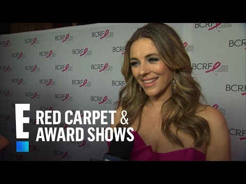 Elizabeth Hurley's Guess on Meghan Markle's Wedding Dress | E! Live from the Red Carpet