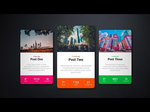 RPG Styles Card With Hover Effect - HTML/CSS