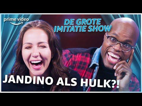 SOPHIE MILZINK & JANDINO in DE GROTE IMITATIE SHOW | Amazon Prime Video NL