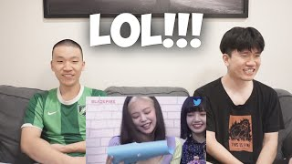 BLACKPINK Cute and Funny Moments 2020 REACTION [LMAO!!!]