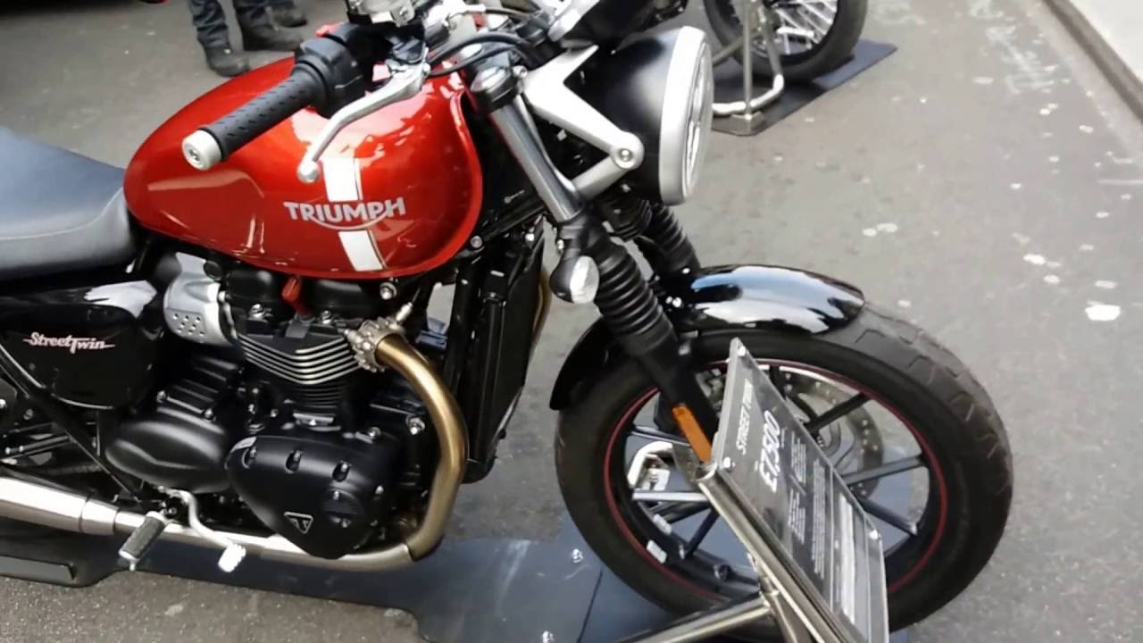 All New Triumph Models | Bobber, Tiger, Street Fighter, Thruxton ...