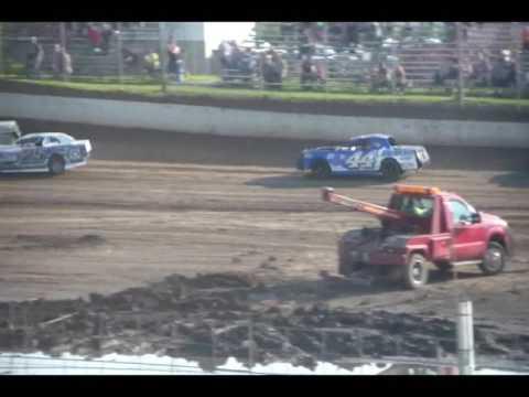 6.3.17---Peoria Speedway---street stock heat race