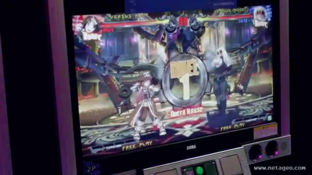 GUILTY GEAR Xrd-SIGN- Arcade Games (JAEPO 2014) - YouTube