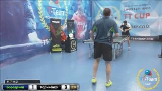 Игра за 5 место Бородачев - Корниенко 20 января 2017 TT Cup