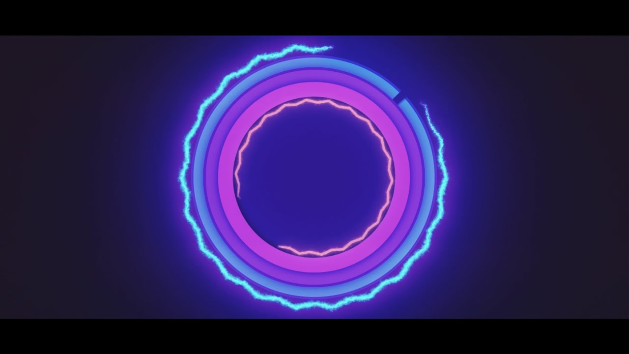 neon free 2d intro template after effects intro template youtube