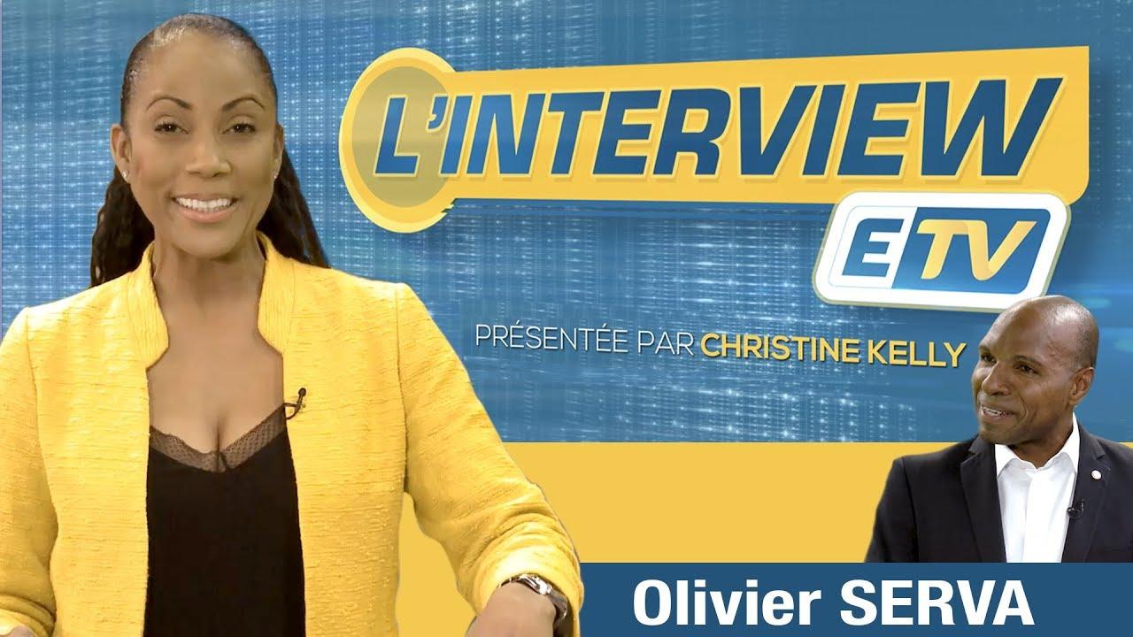 L'interview ETV - Olivier SERVA ( Député de la Guadeloupe)