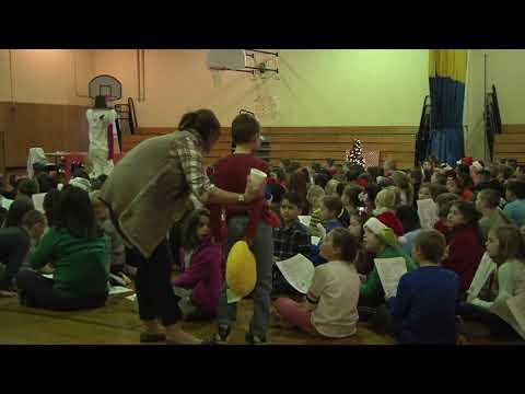 Laliberte Elementary School Holiday Sing Along 12/22/17