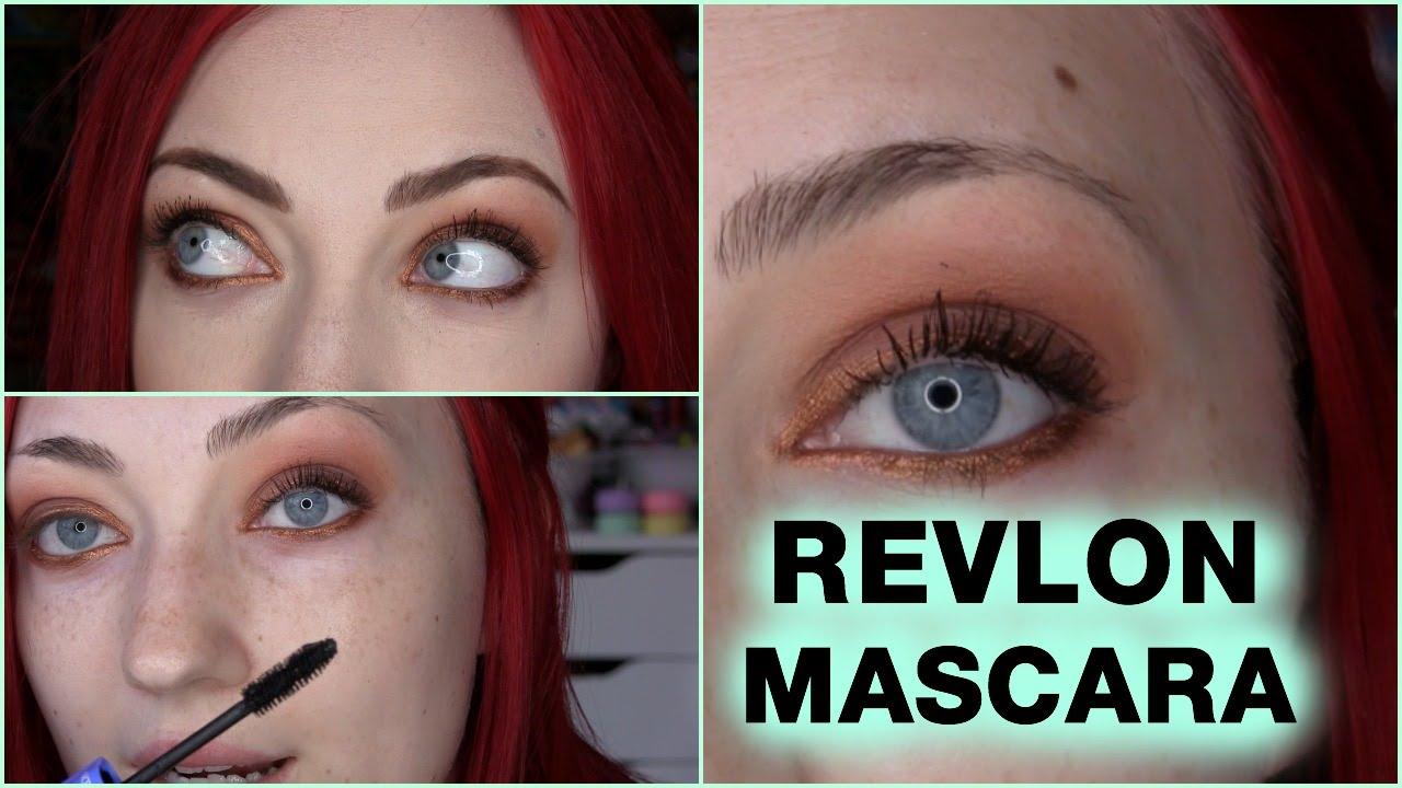 e1d56bdb24f Revlon Volume + Length Mascara | REVIEW + DEMO - YouTube