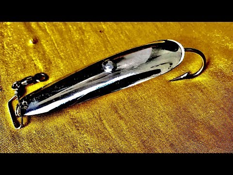 How To Make Spoon Lure - DIY Fishing Lure - Thìa Lure Trong Nước Mặn