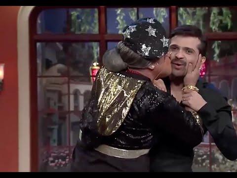 Download Comedy nights with kapil Dadi kiss himesh reshamiya