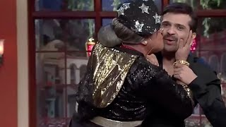 Comedy nights with kapil Dadi kiss himesh reshamiya