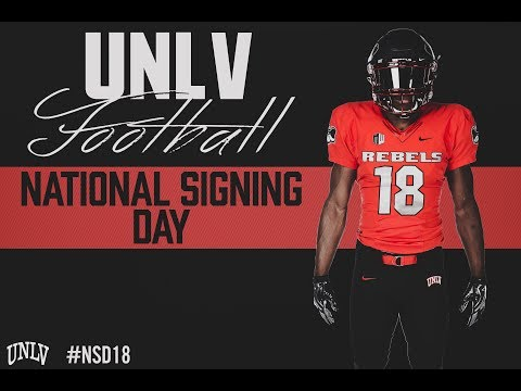 UNLV Football- Class of 2018 Early Signees