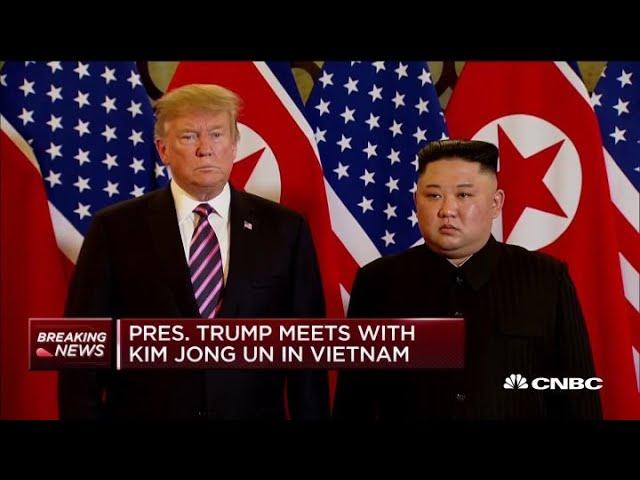 Sommet Kim-Trump : les deux dirigeants se retrouvent à Hanoï sur une note optimiste
