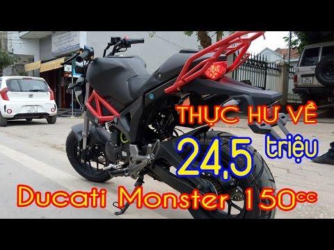 Ducati Monster 150 con quỷ nhá hàng khiến Fan Exciter và Winner ngạc nhiên