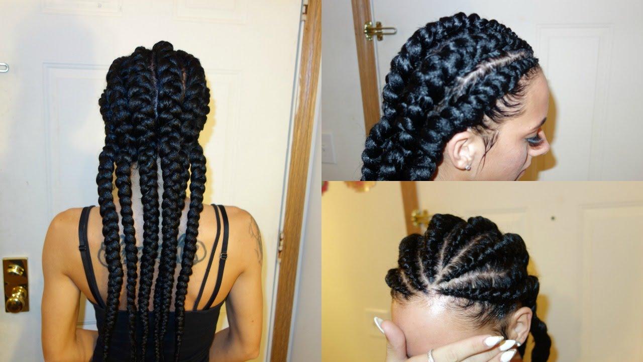 How To Do Ghana Cornrows On Caucasian Hair For Beginners  Christ Bella