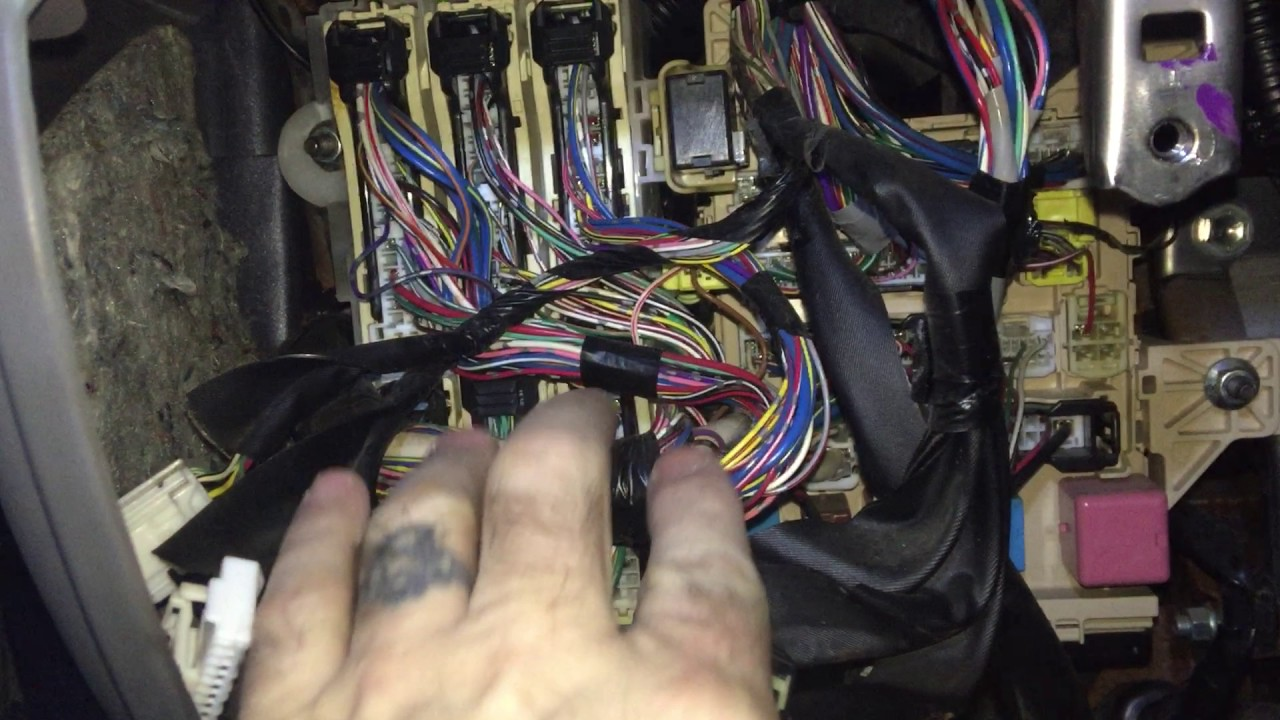 medium resolution of backup camera install 2009 sienna
