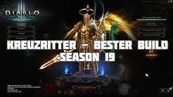 Diablo 3: Kreuzritter Bester Build für Season 19 (new Set)