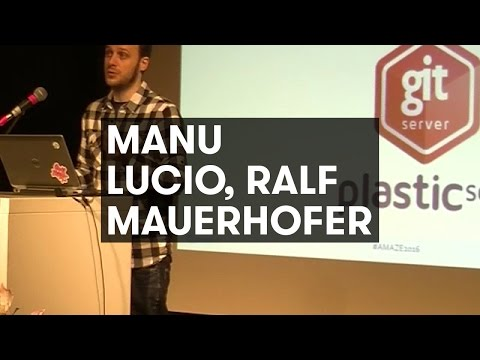 Manu Lucio, Ralf Mauerhofer: Version Control for Indies + Right Tool for Making Games!
