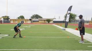 ProTips: Football Drills: The 4-Cone Box Drill