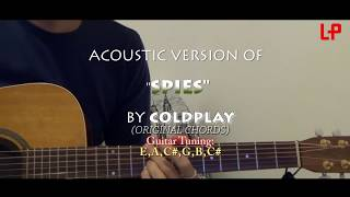 spies - coldplay - original chords tutorial