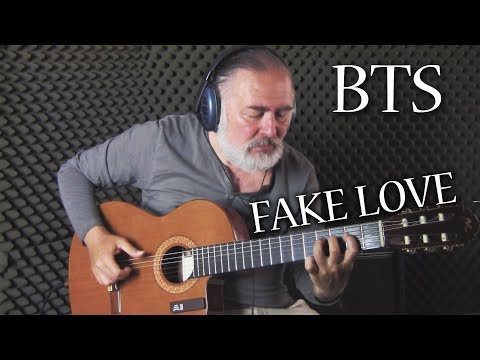 FAKE LOVE | Fingerstyle Guitar