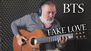 FAKE LOVE | Fingerstyle Guitar