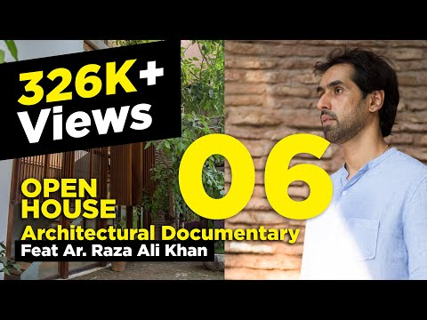 Architect Raza Ali Khan`s Personal Residence In Lahore, Pakistan-Powered By Banjaiga