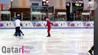 Villagio Mall (QA) - Qatar | Artificial Ice Skating | 2019