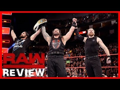 WWE Raw Review 11/20/17! Roman Becomes A Grand Slam Champion!