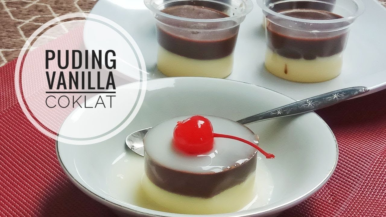 Resep Mudah Puding Vanilla Coklat Cakes 52