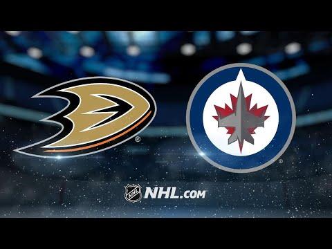 Connor, Scheifele lift Jets past Ducks in OT, 3-2