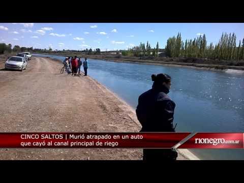 Diario Río Negro | Cinco Saltos | Accidente fatal canal de riego