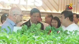 职总平价合作社旗下最大霸级市场 在怡丰城开幕