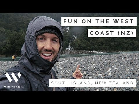 FUN ON THE WEST COAST | New Zealand South Island | Will Wanders Travel Vlog