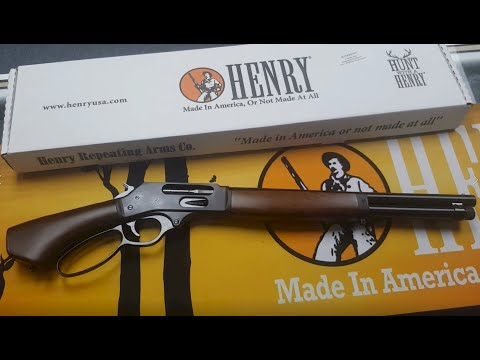 New Henry Axe .410 Lever Action!