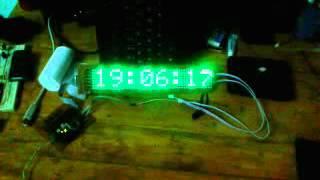 Matrix Digital Clock - Demo