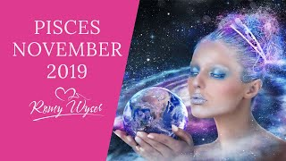 ❤️PISCES ~ NOV 2019 ~ It doesn't need to get complicated - stay focused on YOU!