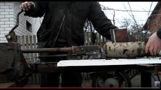 РЕЕЧНЫЙ ДРОВОКОЛ с РЕДУКТОРОМ !!! №2.  ZAHNSTANGEN-CLEAVER-mit GETRIEBE