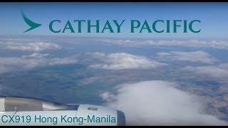 TRIPREPORT | Cathay Pacific 919 (Old Economy) | A330-300 | Hong Kong-Manila