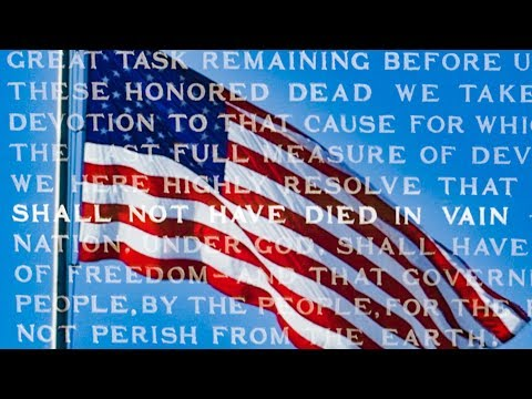 Shall Not Have Died In Vain, Remembering on Memorial Day