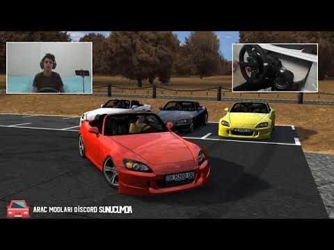 LFS YENİ HONDA S2000 MODU | LOGİTECH G29