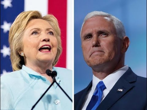 2020 Presidential Prediction- VP Mike Pence vs Hillary Clinton