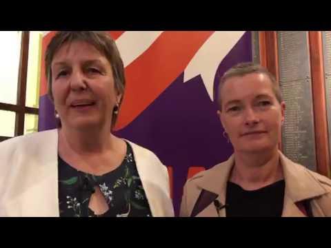 Professor Brenda Happell & Associate Professor Bridget Hamilton #VMIACAwards18