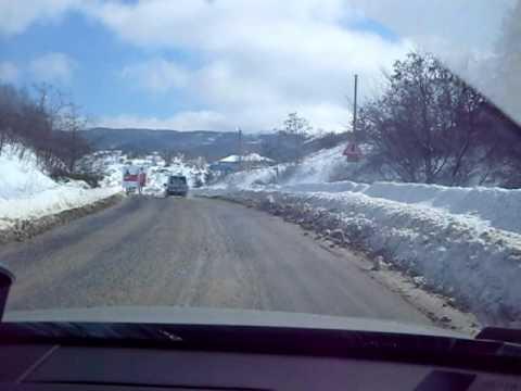 Drive from Sofia to Skopje