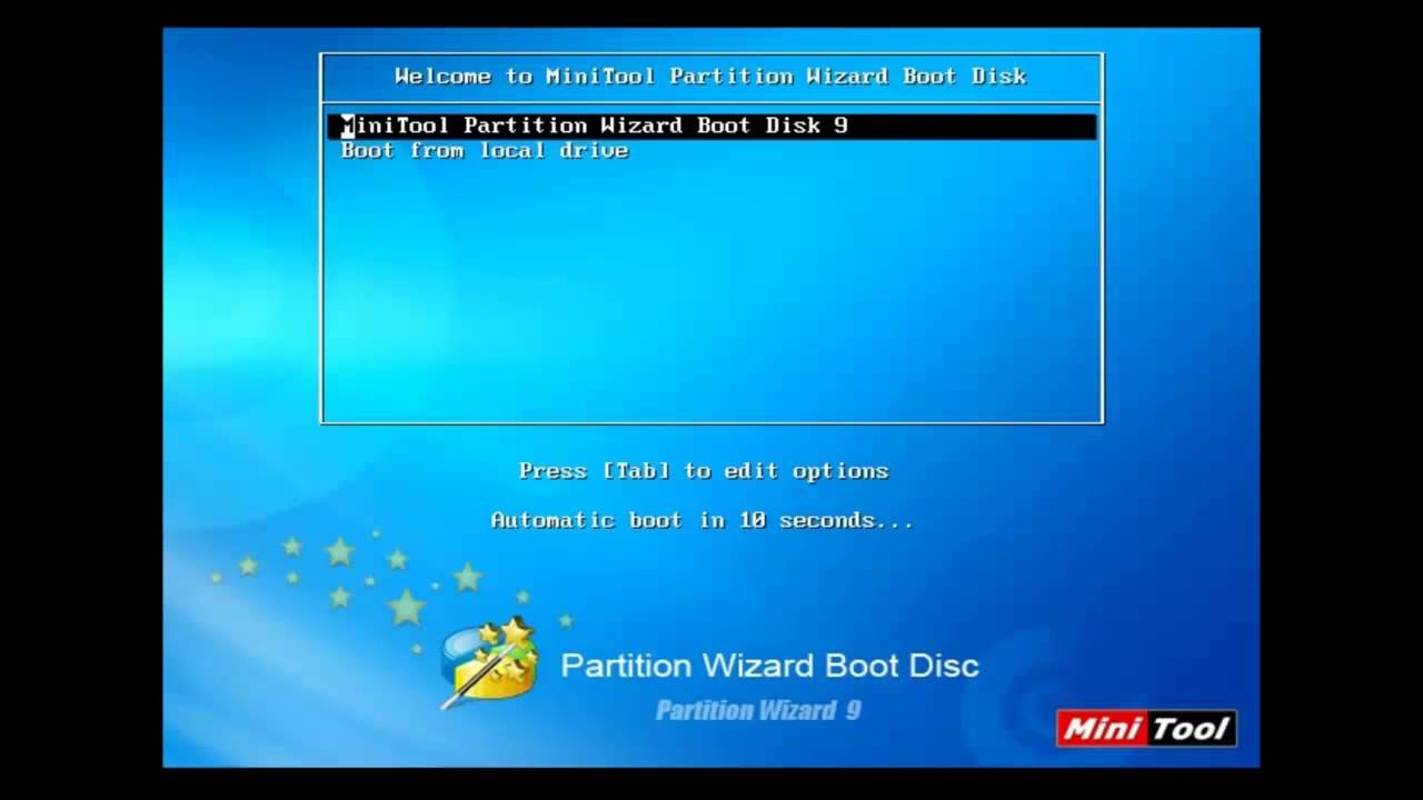 minitool partition wizard bootable cd 10.2