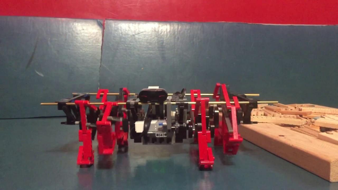 Mindstorms TrotBot, Ver 3 - DIY Walkers