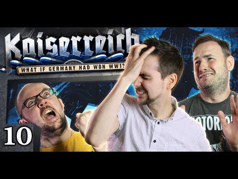 Hearts of Iron IV - Fall of the Kaiserreich #10 - Doing it the Hard Way