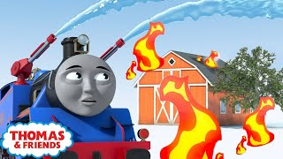 Thomas the Rescue Engine   Thomas' Magical Birthday Wishes   Thomas & Friends UK   Kids Cartoon