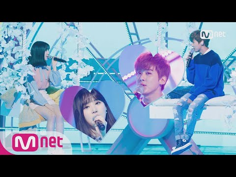 [CHUNJI(TEEN TOP), EUNHA(GFRIEND) - Hold Your Hand] Special Stage | M COUNTDOWN 171026 EP.546