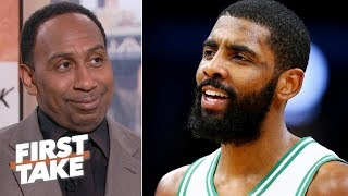 stephen a hints that kyrie irving might join the lakers in free agency first take